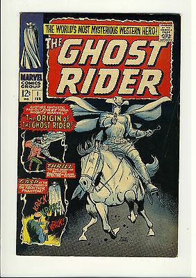 Ghost Rider COMPLETE SET  #1 - #7   BEAUTIFUL DICK AYERS ART   1967 50-years old
