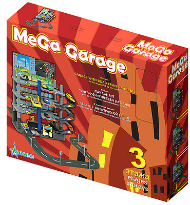 Toy Garage with road track 180cm