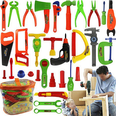 34pcs/set Plastic Repair tools Toy For Baby Children Kid Early Learning Educatio