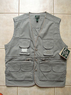 REX  HUNT  FUTURE  FISH    Grey   FISHING  VEST  -  BNWT    **LARGE   Free Post