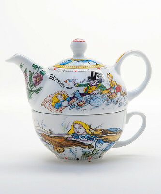 Paul Cardew  Design Alice in Wonderland Tea- for - One  Set  NEW