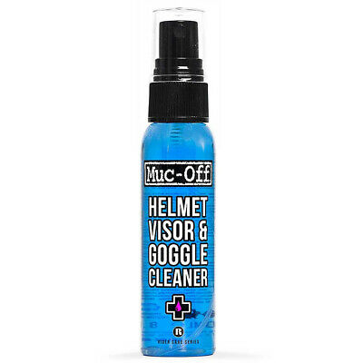 Muc-Off Motorcycle Helmet Visor Goggle Cleaner 30ml Handy Pump Bottle