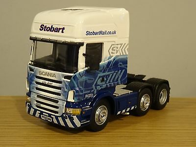 Cararama Eddie Stobart Rail Scania R Series Truck Cab Model Cr035 1:50