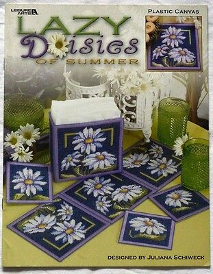 Plastic Canvas Lazy Daisies Of Summer *leisure Arts*