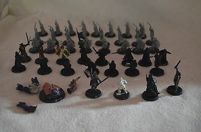 LOTR Games Workshop Warhammer Metal + Plastic 43 Miniatures