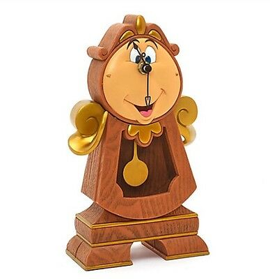 Disney Parks Cogsworth Working Clock Beauty And The Beast Pendulum Gift Ornament