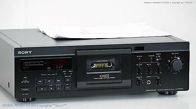 SONY TC-KA6ES High-End Cassette Tape Deck ES-Serie!! Revidiert + 1j.Garantie!!