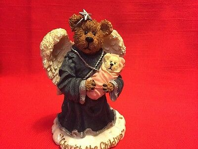 Boyds Bears Angel Figurine The Bearstone Collection Free Shipping
