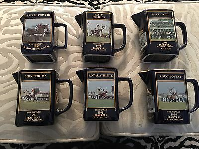 Martell Grand National Jugs Excellent Condition