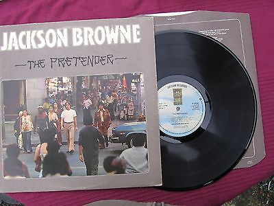 "Jackson Browne  "" The Pretender  ""  12""  L.P. vinyl  record Issued 1976"