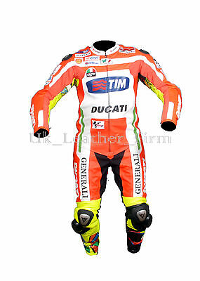 Motorbike Motorcycle Real Leather Racing Ducati Suit 1or 2 Piece custom Made