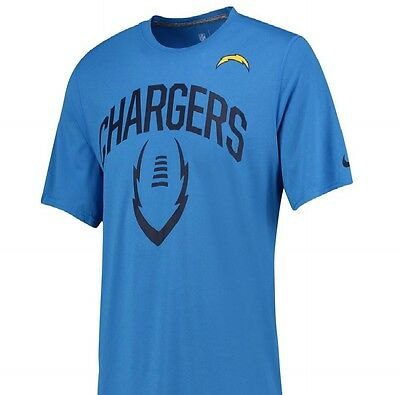 SAN DIEGO CHARGERS  NFL T-Shirt Mens Size  LARGE  L NIKE ICON  BNWT NEW