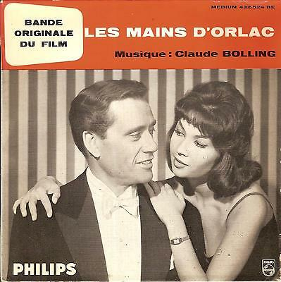 Ep Philips 432.524 Biem Bof Ost Les Mains D'orlac Claude Bolling French Press