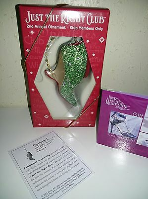Just The Right Shoe - 2003 Bejeweled - JTRC Member Series Ornament - 90216 OVP