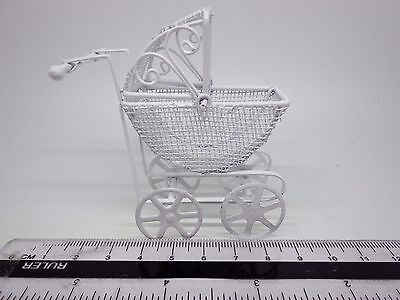 1/12 Scale Toy Pram  Dolls House Miniatures Toy, Nursery