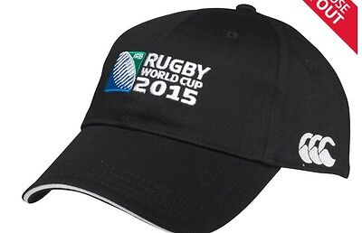 Official Canterbury Rugby World Cup 2015 Black Cap BNWT