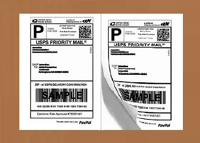 Labels Shipping Address 200 Sheet Mail Self Adhesive White Laser Ink Jet Postage