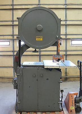 "32"" Crescent Wood Working Band Saw Model 32 3 Hp 3 Ph"