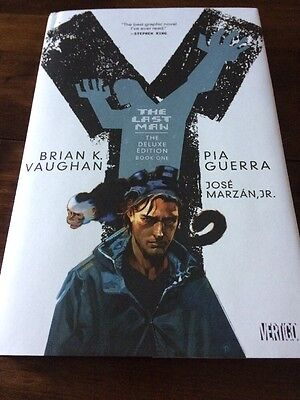 Y The Last Man Deluxe Edition Book Volume 1 Graphic Novel Brian K. Vaughan HB