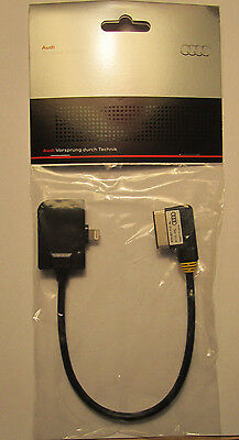 Genuine Audi Specific (Non Usb) Ipod/iphone Lightning Cable Adapter 4F0051510Al