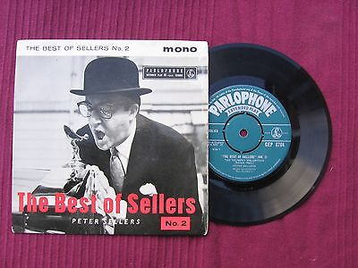 "Peter Sellers  "" The Best Of Sellers No 2 "" 7"" 45 vinyl E.P. 'record Issued 1958"
