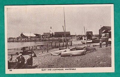 Quay And Lighthouse,whitstable