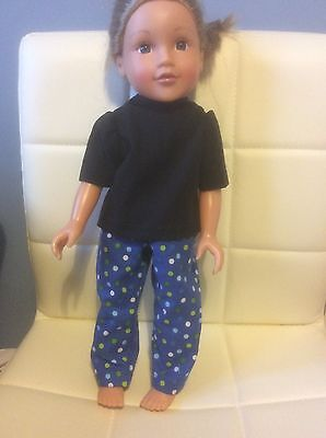 DOLLS CLOTHES HANDMADE Trousers,Top For Boy /girl Design A Friend Or Cayla