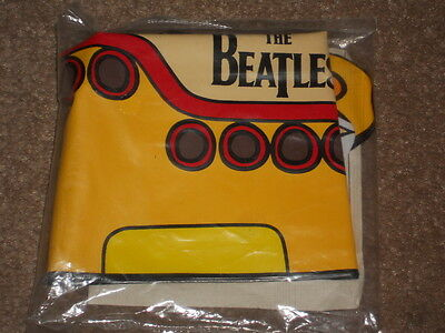 Beatles Yellow Submarine Inflatable Promo Toy Blow Up NEW AND SEALED IN BAG