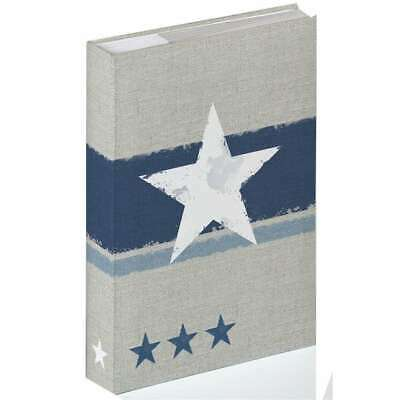 Walther Stellar Blue 6x4 Slip In Photo Album - 300 Photos Overall Size 13x9""