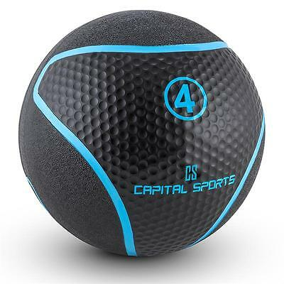Medicine Ball Gym Exercise Strength Weights Cross-Training Workout 4 Kg Black