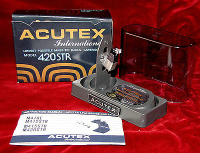 Testina Acutex International, Mod. M420STR , Tri-Radial LPM System Cartridge