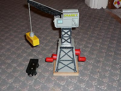 Thomas and Friends Wooden Railway: Cranky the Crane Set