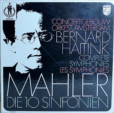 6768 021 (1st Ed. – 16 LPs) *MAHLER: THE COMPLETE SYMPHONIES* HAITINK