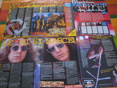 Black Crowes 7 Italian Magazine Clippings Articles