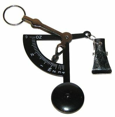 Old World Style Hand Held Scale Quick Weigh, 100 gram, Black