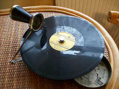 Super  MIKIPHONE Gramophone  with small Horn (working order)