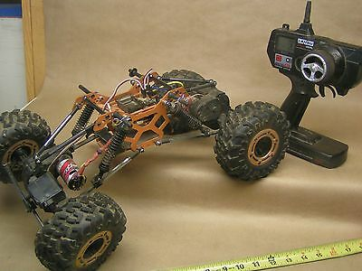 REDCAT ROCKSLIDE Crawler, 4WD / 4WS, twin motor, 2.4 gHz system...see pics