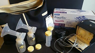 Medela Double Breast Pump in Style Advanced with On the Go Tote