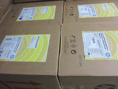 LOT OF 4 HP ElectroInk Yellow for 7000 and WS6000  W7200 press Q4130B INDIGO
