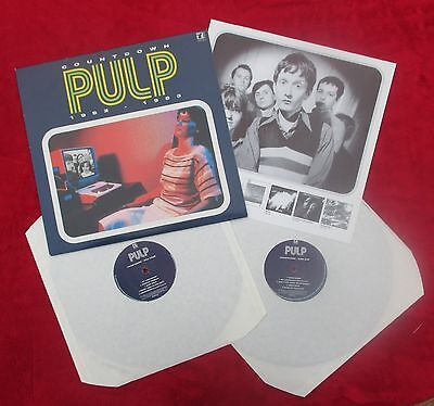 PULP Countdown 1992-1983 2 x LP VINYL **MINT / UNPLAYED** with Insert