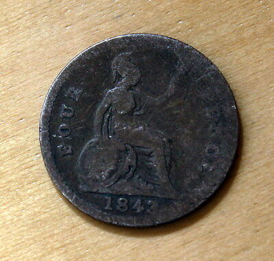1843 Great Britain 4 Pence Silver