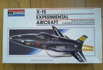 Monogram 1/72 X-15 USAF NASA Experimental Aircraft
