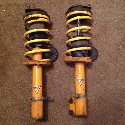 Koni adjustable dampers and Apex springs, For Vauxhall Corsa B, And Tigra A