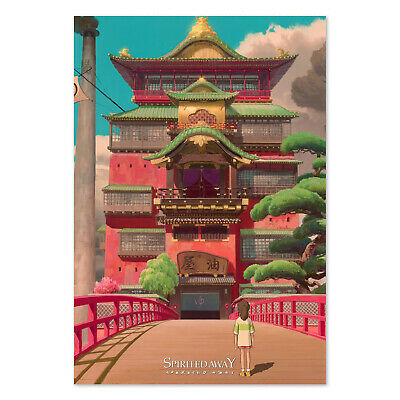 Spirited Away Poster - Studio Ghibli Official Art - High Quality Prints