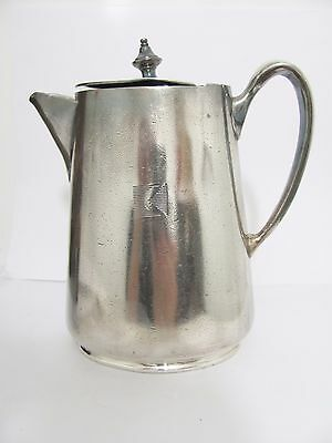 Vintage Morton Parker Silverplate CPR Canadian Pacific Railway Hot water Pot
