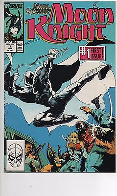 Marc Spector: Moon Knight #1 Nm- 1989 Charles Dixon