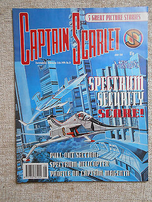 Captain Scarlet & The Mysterons 8: Near Mint