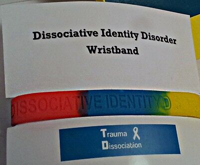 Dissociative Identity Disorder / MPD awareness wristband