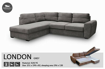 - London - Brand New Corner Sofa Bed, Sleep Function more than 4seater