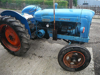 1956 Fordson Diesel Major Tractor
